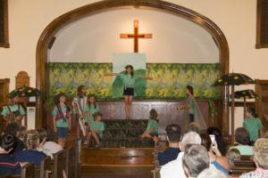 Blessing of Haywood Street Fresco